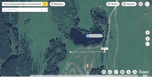 Во Владимирской области озеро ушло под землю. Озеро, провал, Вязники, Владимирская область, Саканцы, видео