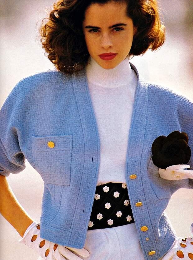 Старые журналы мод, 1980-е годы