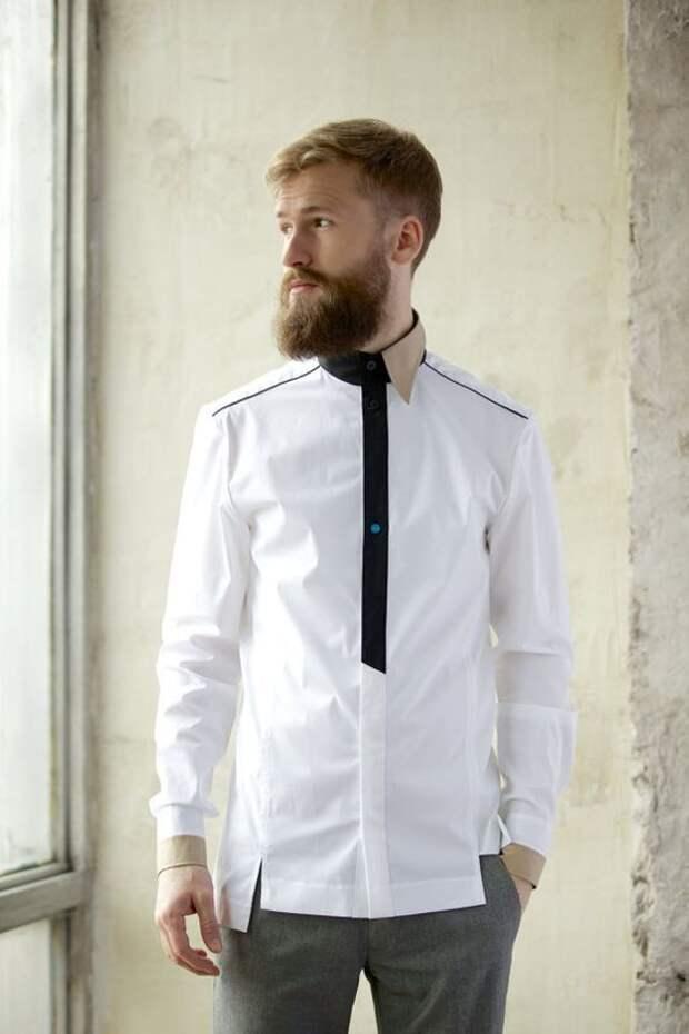 Детали мужских рубашек (трафик)