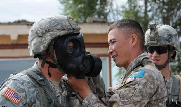 Американская военщина пускает корни в Казахстане