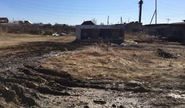В пригороде Нижнего Тагила начались проблемы с подъездом к мусорным площадкам