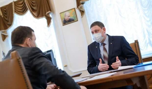Мэр Артемовского попросил уКуйвашева звание «вентиляторной столицы Урала»