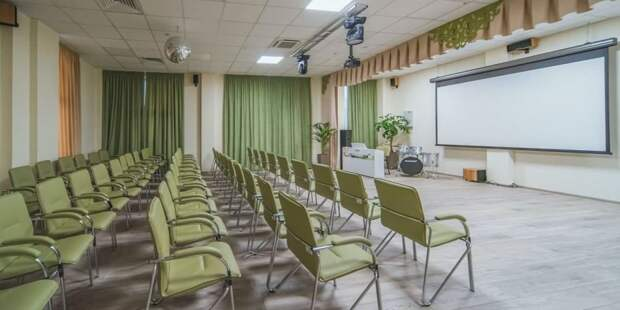 Собянин открыл новое здание клуба «Современник» на северо-западе Москвы. Фото: Е. Самарин mos.ru