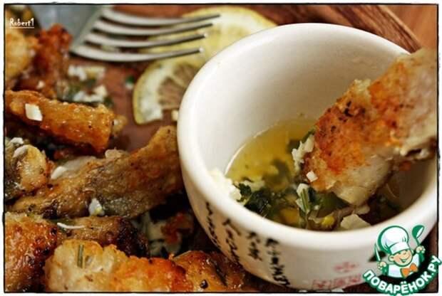 Рыба в чесночно-сливочном соусе