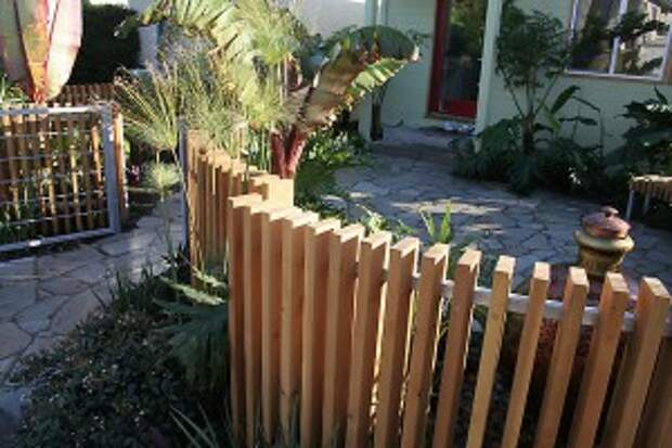 ограда внутреннего дворика