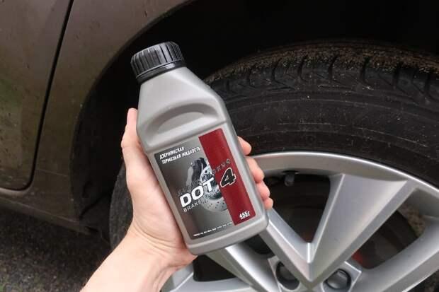 тормозная жидкость для эксперимента по цене 90 рублей