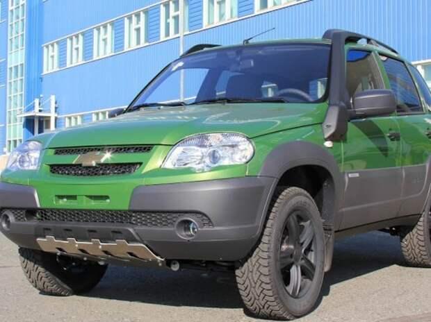 GM-АВТОВАЗ повысит цены на Chevrolet Niva на 20000 рублей с 1 января