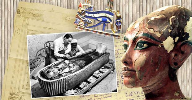 тутанхамон, фараон, мумия, проклятие, египет, тайны истории, history