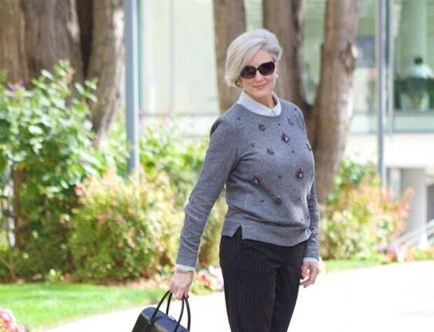 Образы для стильной женщины, а не «бабушки» пенсионерки