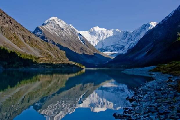 Аккемское озеро Горный Алтай.