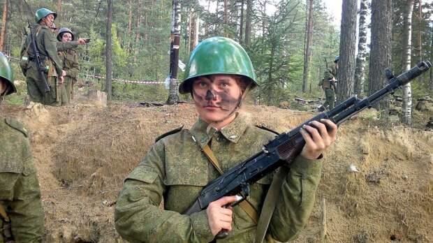 От тайги до британских морей ... : Лица девушек из Российской армии (54)