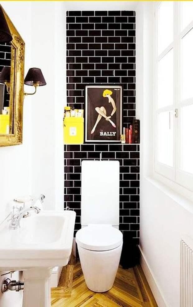 11 нескучных идей дизайна туалета