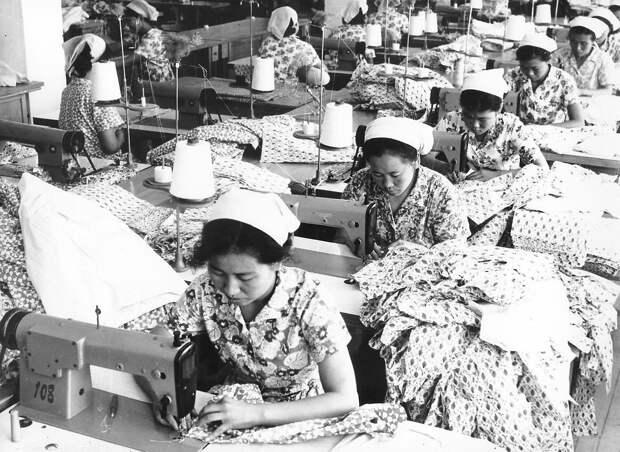 Текстильная фабрика. Пхеньян