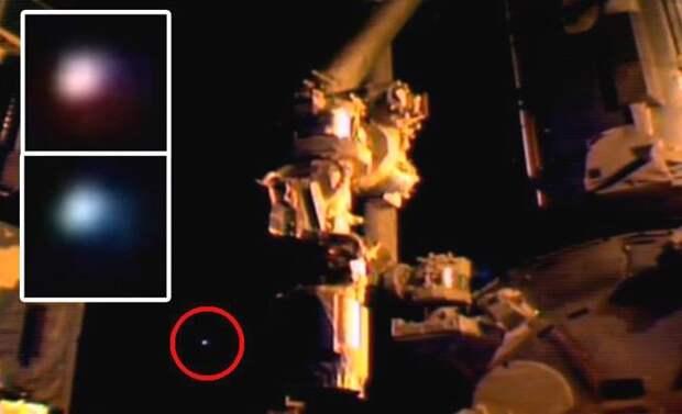 Космонавты МКС отказались показать землянам НЛО
