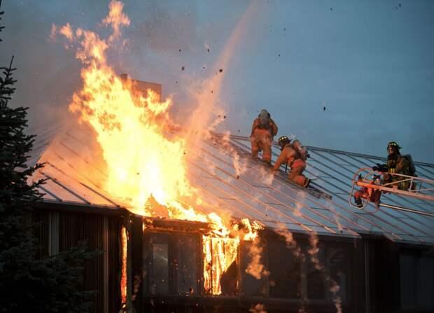 В США создали навигационную систему поиска спасателей в горящем здании