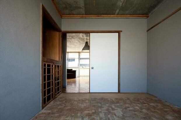 Бюджетный пол из обрезков деревянных реек. дизайн интерьера, полы