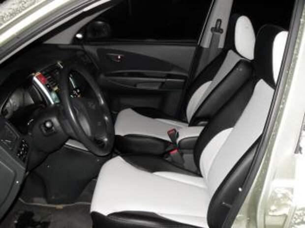 Перетяжка сидений  Hyundai Tucson