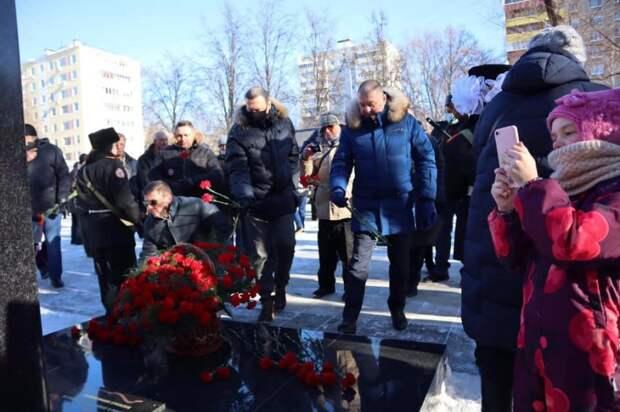 Глава управы Молжаниновского почтил память исполняющих служебный долг за пределами Отечества
