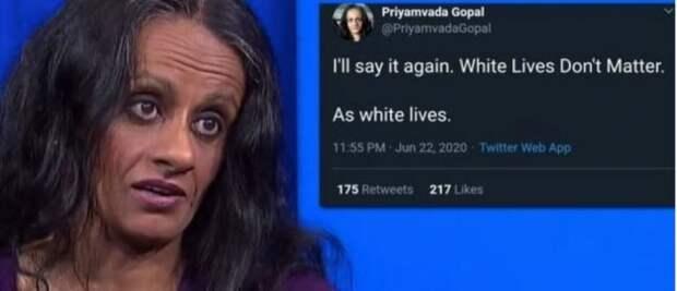 Профессор Кембриджского университета: «Жизни белых не имеют значения»