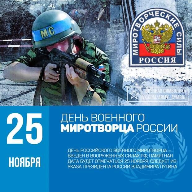 День военного миротворца России
