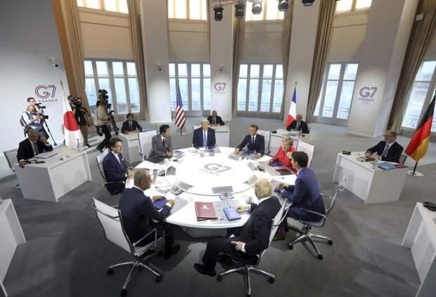 Кризис солидарности: «Группа семи» разделена по вопросу о России