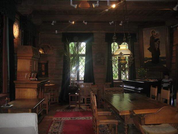 Гостиная дома-музея В.Васнецова