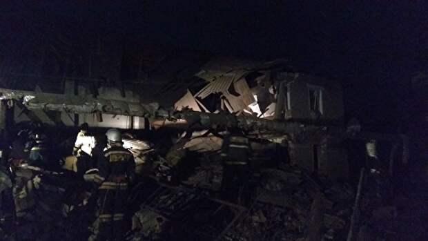 В МЧС рассказали о жертвах и пострадавших при взрыве газа и обрушении дома в Нижегородской области