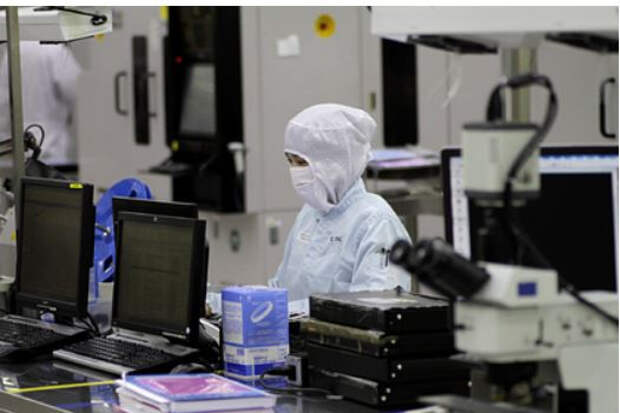 Китай решил добить производство микрочипов