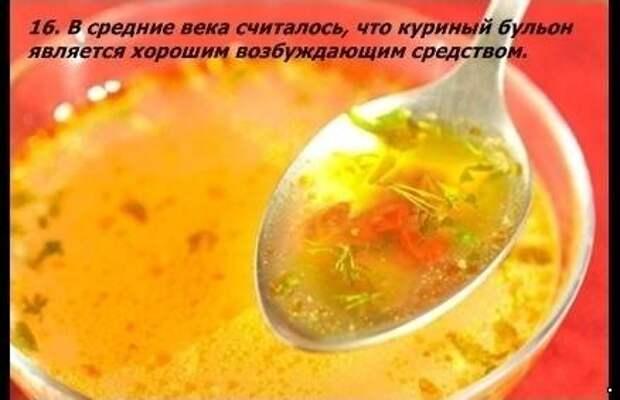Познавательные факты о еде