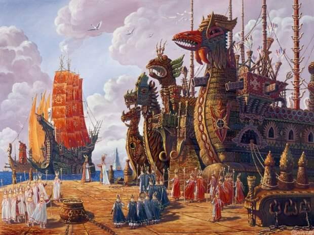 Война Атлантиды с Гипербореей все еще продолжается?