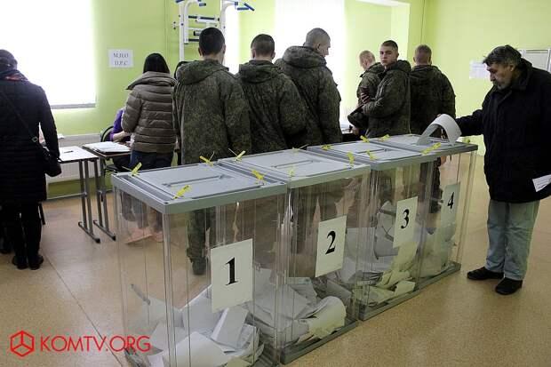 Выборы в Крыму 2018 Избирательный участок №439 (стадион им. Шайдерова)