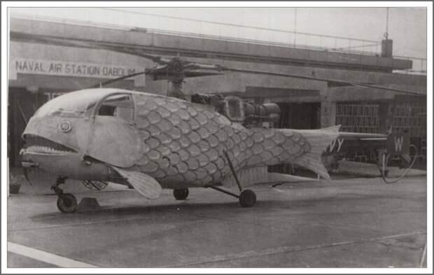 Оказывается, в Индии в 1970-х были вертолеты в виде слонов