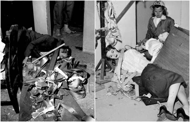 Вид помещений и манекенов после бомбардировки говорил сам за себя. /Фото: mayak.org.ua