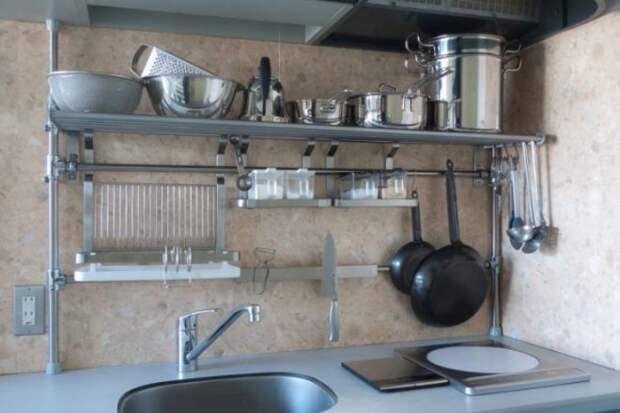 Рейлинги для кухни: как не ошибиться при выборе (64 фото)