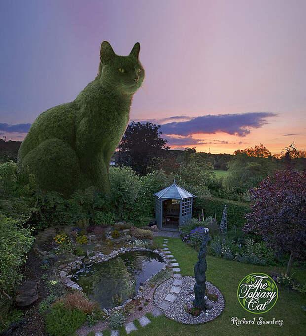 Мужчина превращает деревья и кусты в котиков! Один из самых чудесных «садов» на планете