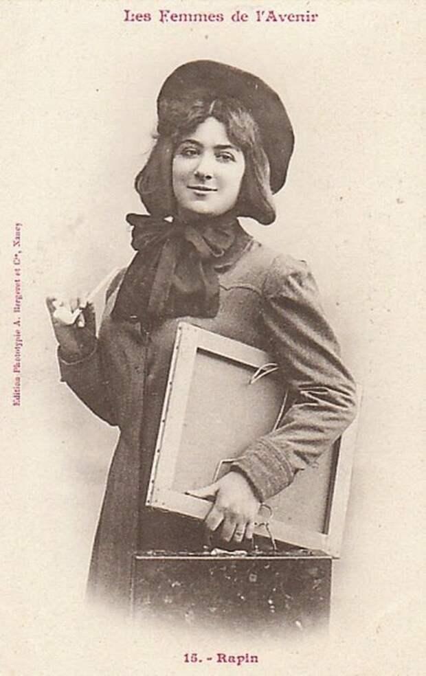 Профессии, в которых было невозможно представить женщин в 1902 году женщины, прогресс, профессии, феминизм