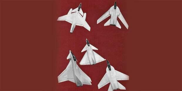 Различные английские проекты врамках программы ECF. Внекоторых ужеможно увидеть черты будущего Eurofighter