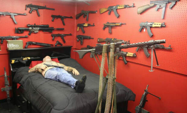 Как живет самый вооруженный человек мира