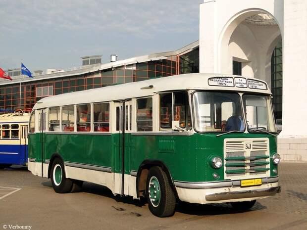 ЗИЛ-158В история, советские автобусы, транспорт
