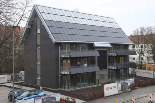 В Европе строят дома, жители которых не получают счета за электричество и тепло