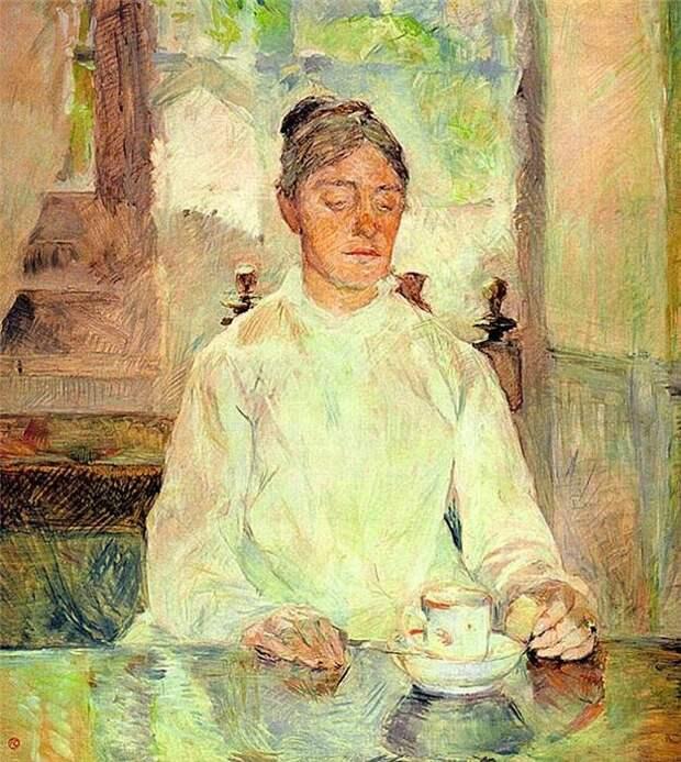 Портрет матери художника.