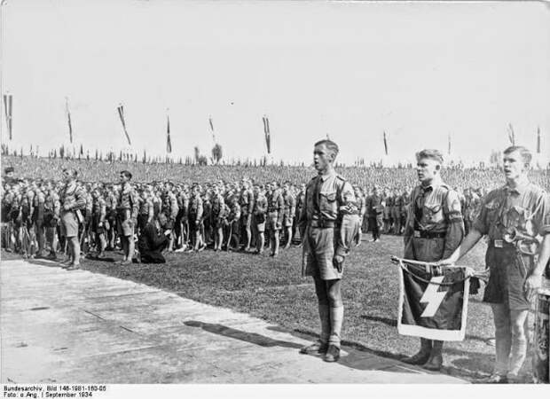 """Жизнь и деятельность участников молодёжной организации """"Гитлерюгенд"""" в 1933-38 годы"""