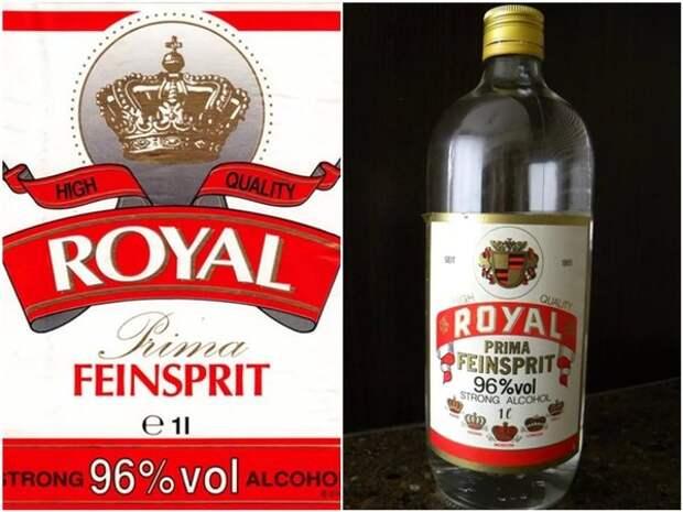 """Спирт """"Рояль"""" - смертельный напиток 90-х"""