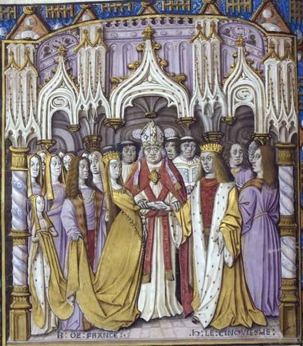 2. Генрих V с женой.jpg