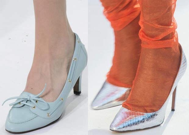Туфли на каблуках в коллекциях 2018 года