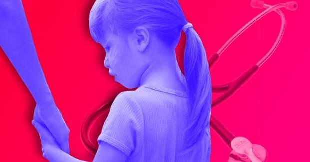 Девочку, которая 5 лет жила в больнице, забрали в новую семью