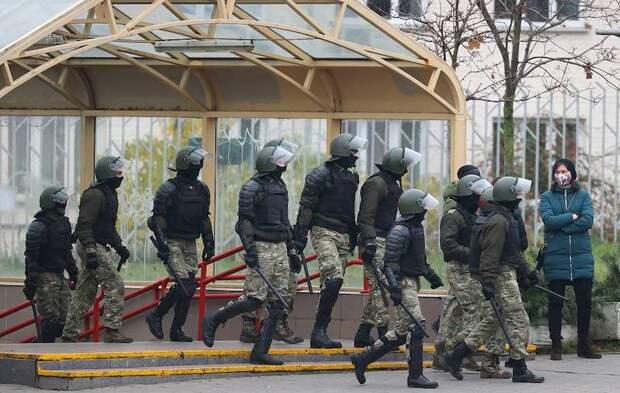 МВД Белоруссии применило спецсредства против демонстрантов