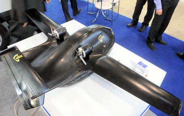 Уникальный российский беспилотник впервые представили на «Иннопроме-2014»