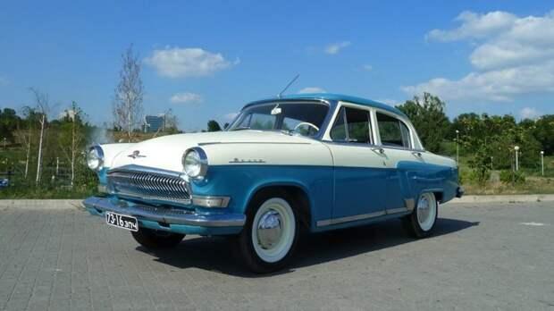 ГАЗ-21 «Волга» автомобили, газ, фоторепортаж