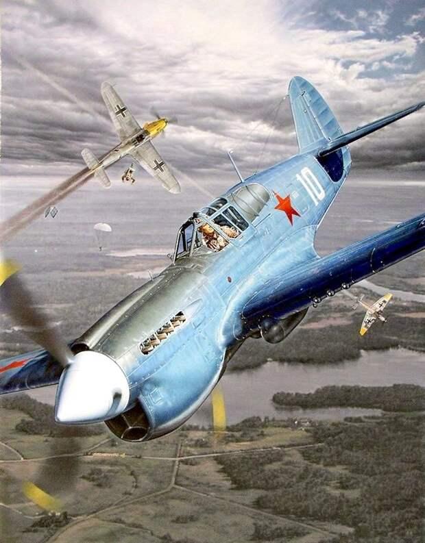 Р-40Е Б.Ф.Сафонова, 1942 г.